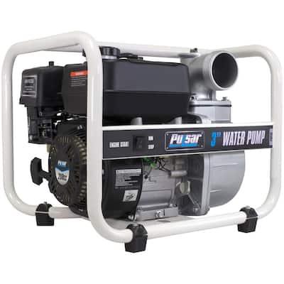 6.5 HP Gas Powered 3 in. Semi Trash Water Pump