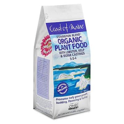 OMRI Listed Organic Stonington Blend Plant Food, 4 lbs. Bag