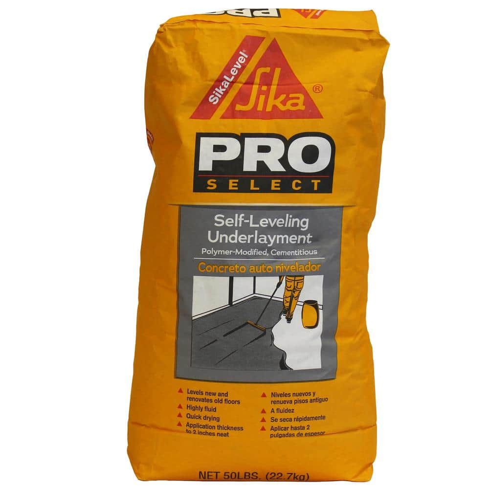 Sika 50 Lbs Self Leveling Underlayment