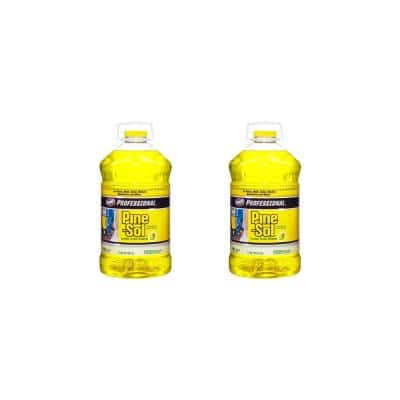 Professional 144 oz. Lemon Fresh Multi-Surface Cleaner (2-Pack)