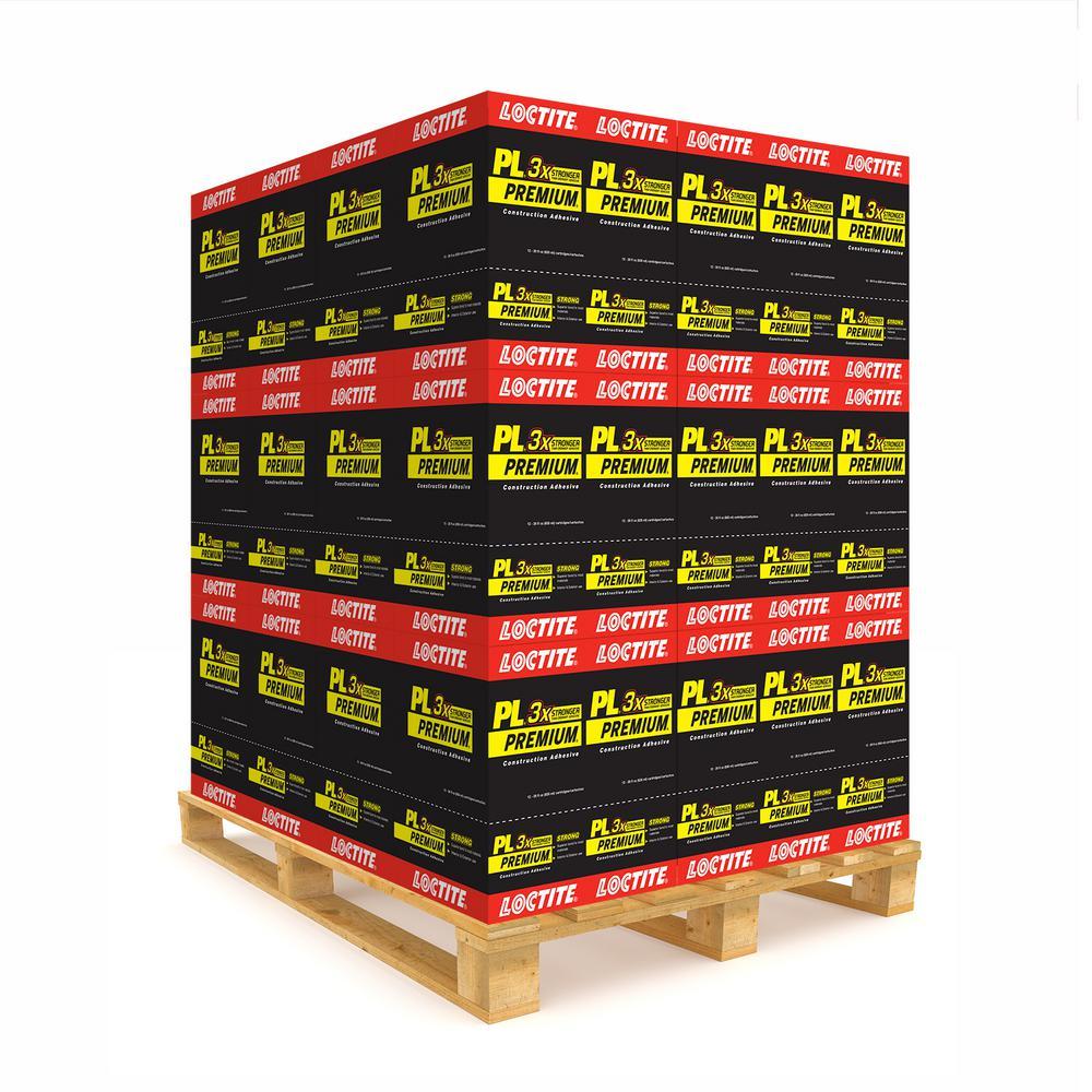 PL Premium 28 fl. oz. Polyurethane Construction Adhesive (Pallet)