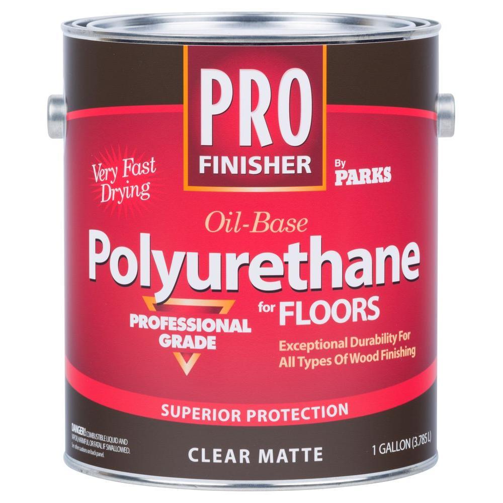 Pro Finisher 1 gal. Clear Matte 450 VOC Oil-Based Polyurethane for Floors