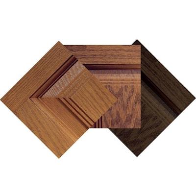 Fiberglass Oak Woodgrain Stain Sample (3-Pack)