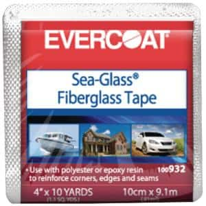 6 oz. 4 in. x 10 yds. Fiberglass Cloth-Woven Tape
