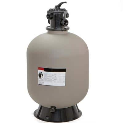 24 in. 3.15 sq. ft. Filtration Area Swimming Pool Sand Filter System with 7-Way Valve for In-Ground Pools