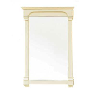 Harmon 24 in. W x 42 in. H Framed Rectangular Bathroom Vanity Mirror in white