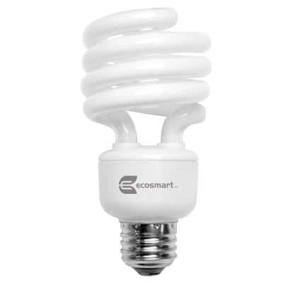 100-Watt Equivalent Spiral CFL Light Bulb, Soft White