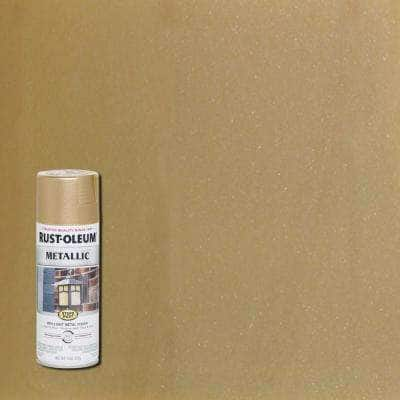 11 oz. Vintage Metallic Warm Gold Protective Spray Paint (6-Pack)