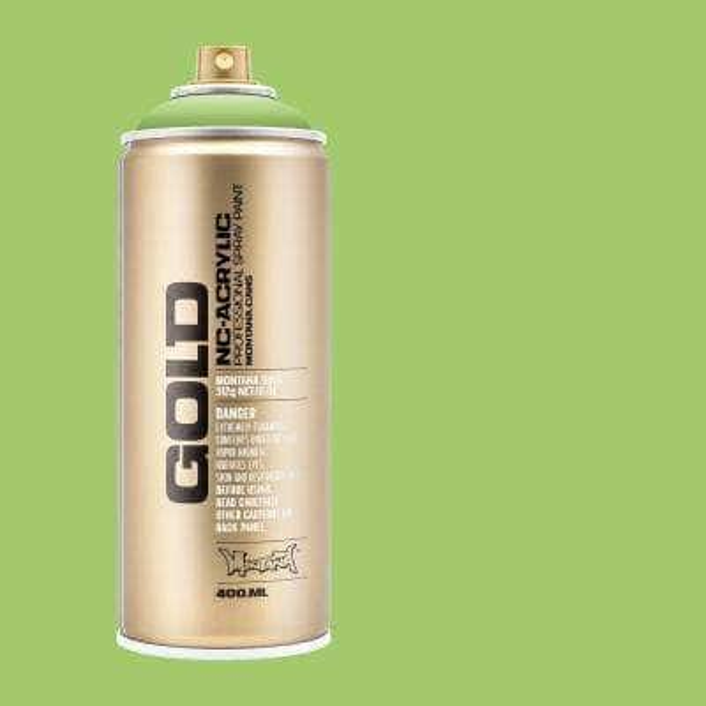 11 oz. GOLD Spray Paint, Green Apple