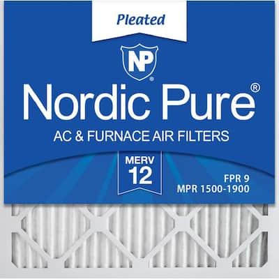 20 x 20 x 2 Allergen Pleated MERV 12 - FPR 9 Air Filter (3-Pack)
