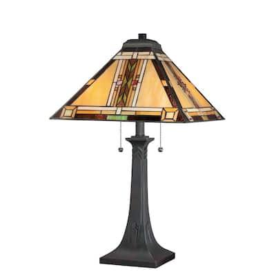 Navajo 25 in. Valiant Bronze Table Lamp