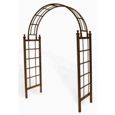 Lattice 85 in. H x 50 in. W x 23 in. D Arch with Spikes