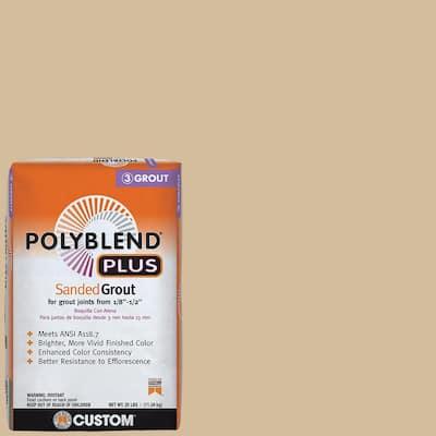 Polyblend Plus #122 Linen 25 lb. Sanded Grout