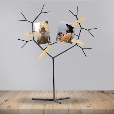 Metal Tree Clips Photo Holder