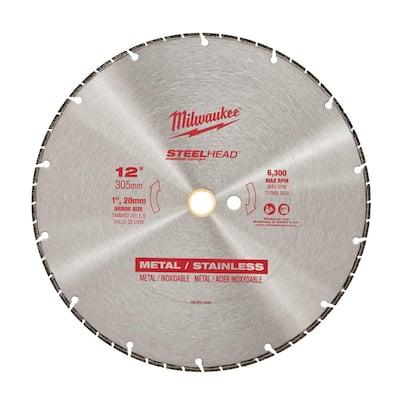 12 in. Steelhead Diamond Cut Off Blade