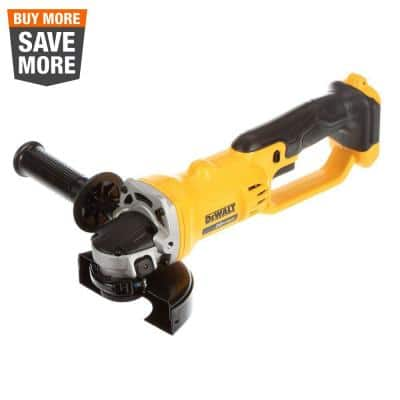 20-Volt MAX Cordless 4-1/2 in. to 5 in. Grinder (Tool Only)