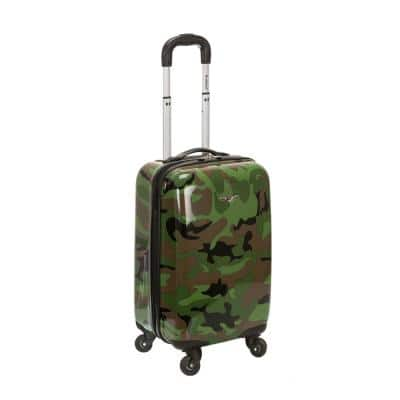 Animal 20 in. Hardside Carry-On, Camo
