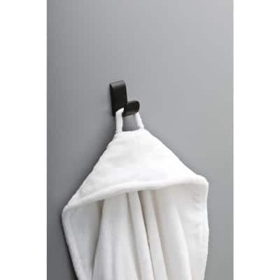 Annalisa Single Towel Hook in Matte Black
