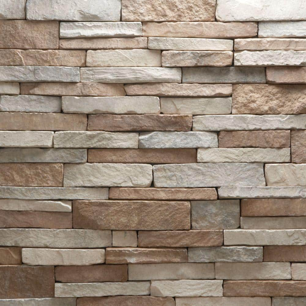 Veneerstone Stacked Stone Villa Corners 10 Lin Ft Handy Pack Manufactured Stone 97356 The Home Depot