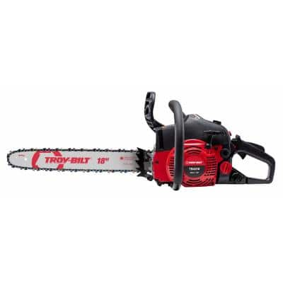 18 in. 42 cc 2-Cycle Lightweight Gas Chainsaw with Automatic Chain Oiler