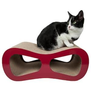 Red Modiche Ultra Premium Modern Designer Lounger Cat Scratcher