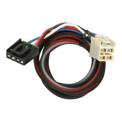 2.5 ft. Trailer Brake Chain Control Harness Wiring Adapter for GM with 2 Plugs