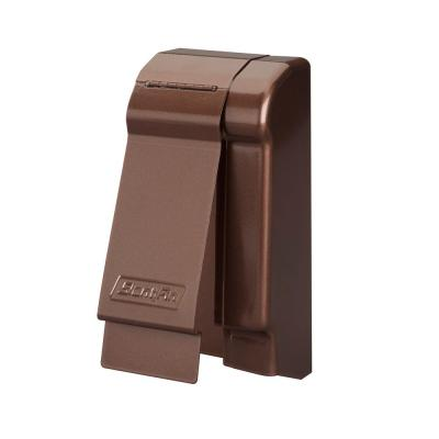 Fine/Line 30 Decor Series 3-3/4 in. Right-Hand End Cap for Baseboard Heaters in Rubbed Bronze