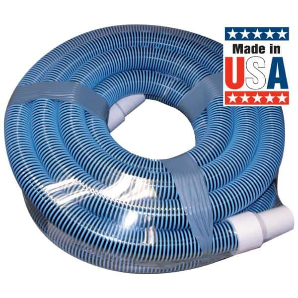 Poolmaster Classic Collection 30 Ft X 1 1 2 In Swimming Pool Vacuum Hose For Inground Pool 33430 The Home Depot