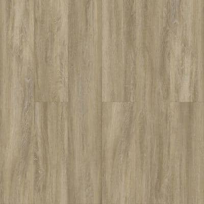Natural Oak 6 in. x 36 in. Luxury Vinyl Plank Peel And Stick Wall (18 sq. ft. / Case)