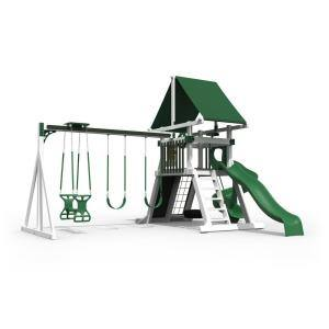 Orion White and Green Vinyl Playset