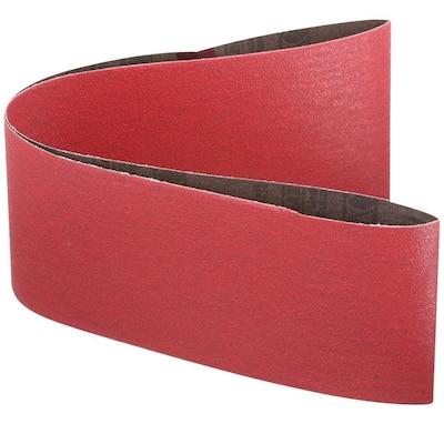 4 in. x 36 in. 80-Grit Sanding Belt