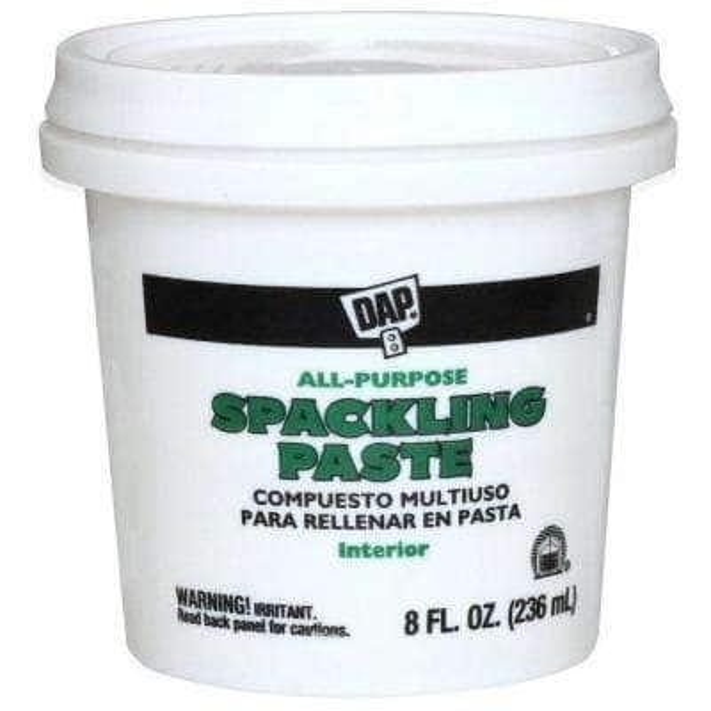 Spackling Paste 8 oz. White All-Purpose