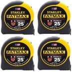FATMAX 25 ft. x 1-1/4 in. Magnetic Tape Measure (4-Pack)
