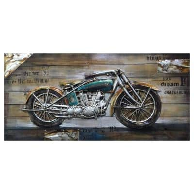 """""""Bike Passion I"""" by Unknown Artist Wood Wall Art"""