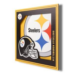 Pittsburgh Steelers LSWA 12 in. x 12 in.