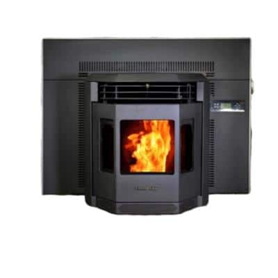 2800 sq. ft. EPA Certified Pellet Stove Fireplace Insert with a 47 lbs. Hopper