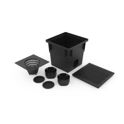 13.5 in. W x 13.5 in. L x 13 in. H Catch Basin Kit