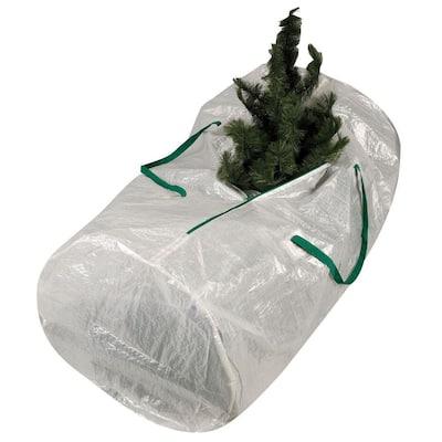 Christmas Tree Bag with Green Trim