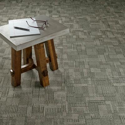 Royce District Loop 24 in. x 24 in. Carpet Tile (18 Tiles/Case)