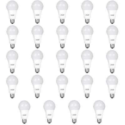100-Watt Equivalent A19 Dimmable CEC ENERGY STAR 90+ CRI Indoor LED Light Bulb, Daylight (24-Pack)