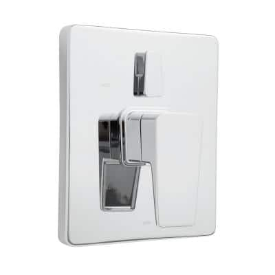 Kubos 1-Handle Shower Valve Trim Kit with Diverter in Polished Chrome (Valve Not Included)