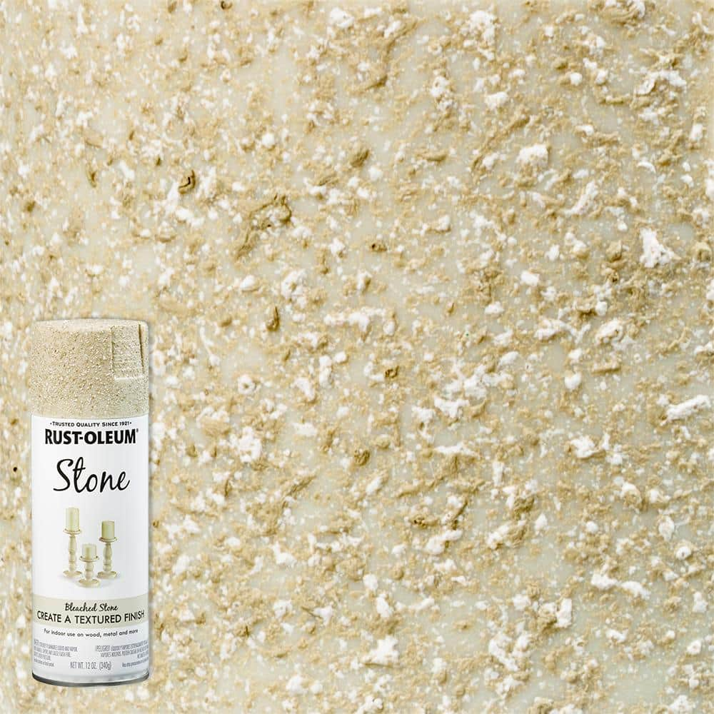 American Accents 12 oz. Stone Creations Bleached Stone Textured Finish Spray Paint