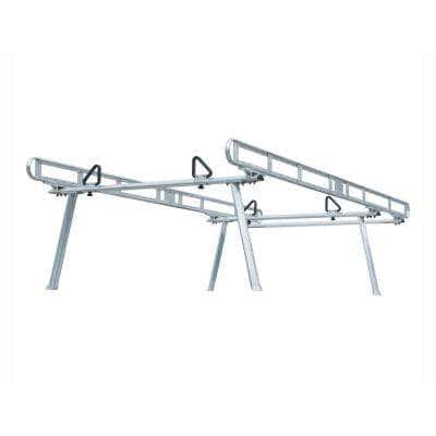 800 lbs. Capacity Clear Anodized Aluminum Truck Ladder Rack