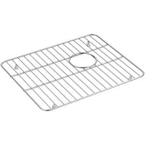 Whitehaven 14-9/16 in. x 17-5/8 in. Sink Bowl Rack in Stainless Steel