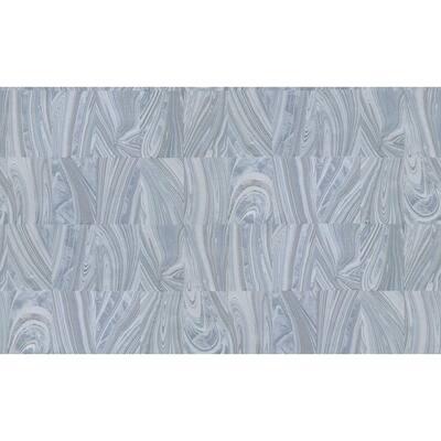 Yates Silver Marble Silver Wallpaper Sample