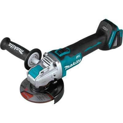 18V LXT Lithium-Ion Brushless Cordless 4-1/ 2 in. /5 in. X-LOCK Angle Grinder with AFT, Tool Only