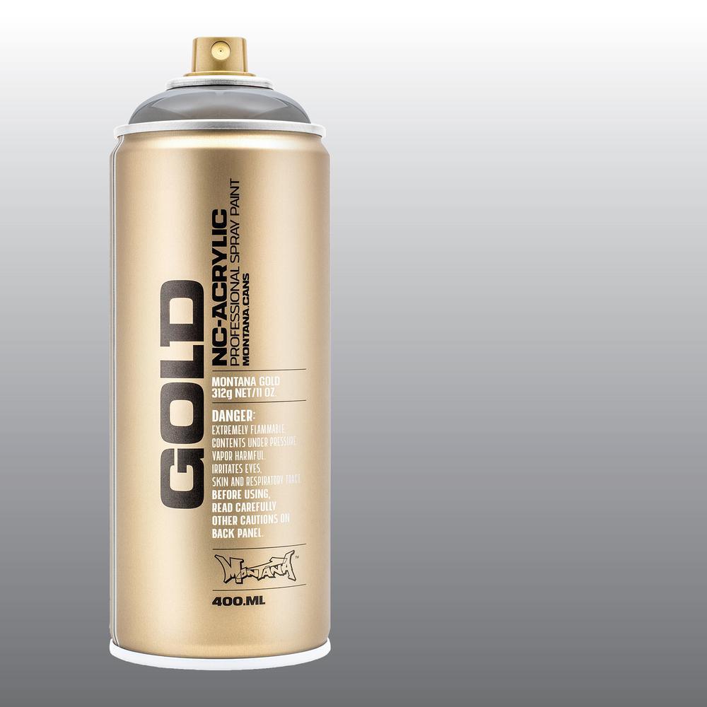 11 oz. GOLD Spray Paint, Transparent, Black