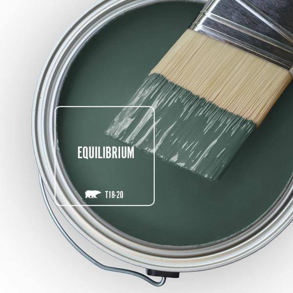 Reviews For Behr Marquee 1 Gal T18 20 Equilibrium Semi Gloss Enamel Interior Paint Primer 345301 The Home Depot