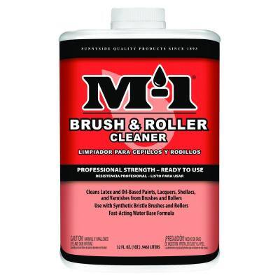 1 qt. Brush and Roller Water-Based Cleaner (4-Pack)