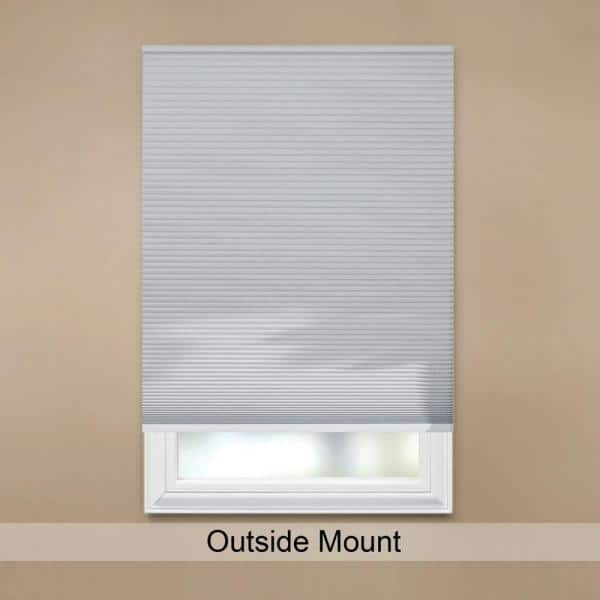 Home Decorators Collection Shadow White Cordless Blackout Cellular Shade 35 In W X 48 In L 10793478636433 The Home Depot